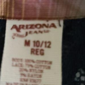 Arizona Jean Company Shirts & Tops - Girl Size M Arizona Plaid Long sleeves Shirt